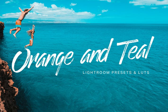 Thumbnail for Orange Teal Lightroom Presets and  LUTs