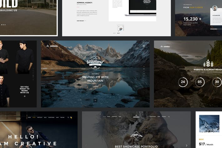 Thumbnail for Admiral - Creative Multipurpose PSD Template