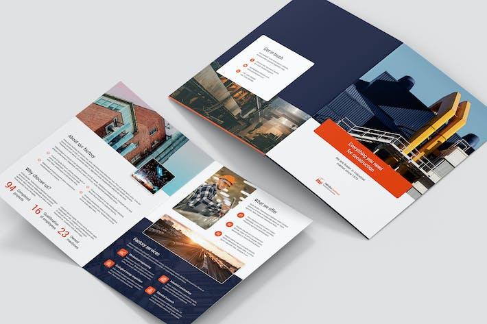 Thumbnail for Брошюра — Фабрика Bi-Fold