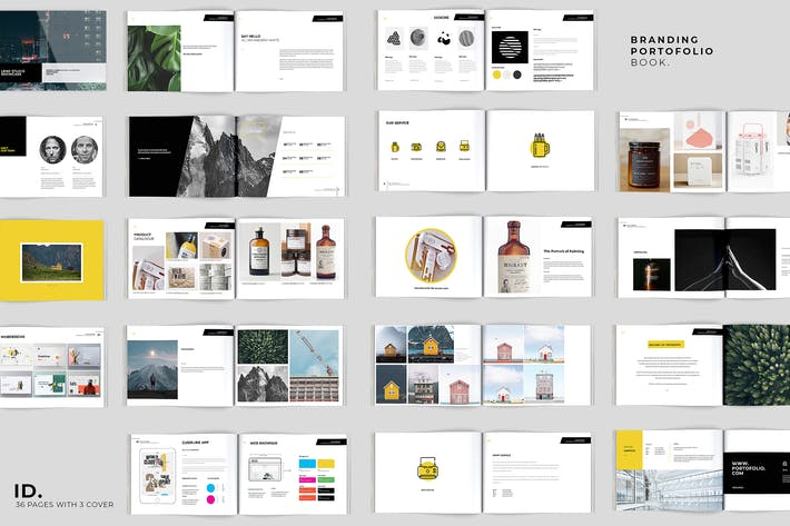 Thumbnail for 36 Pages Brands & Portofolio Book