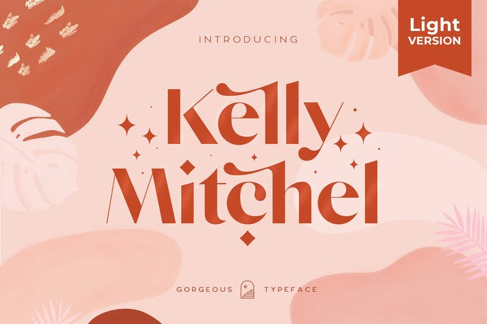 Thumbnail for Kelly Light - Gorgeous Sans Serif