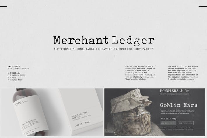 Merchant Ledger
