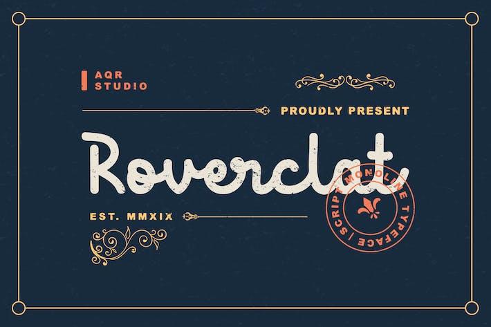 Thumbnail for Roverclat Vintage Font