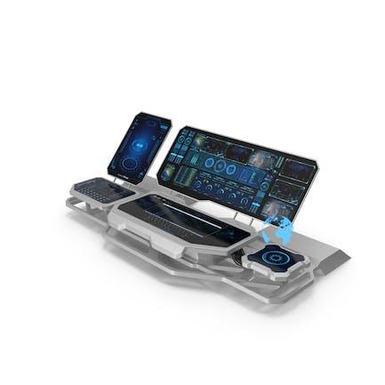 Hologram Remote Control Panel