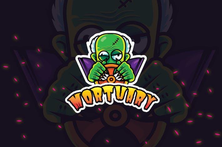 Thumbnail for Morgue Driver - Mascot & Esport Logo