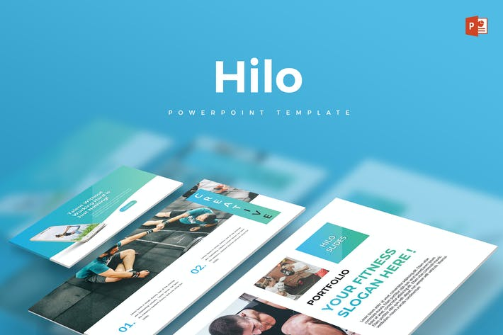 Thumbnail for Hilo - Powerpoint Template
