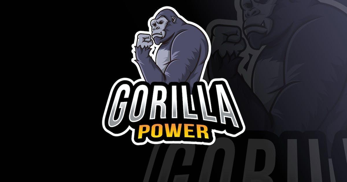 Download Gorilla Power Logo Template by IanMikraz