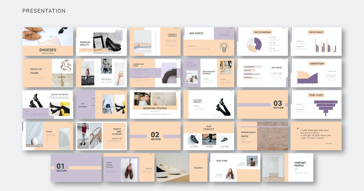 Download Shoes - Presentation by celciusdesigns