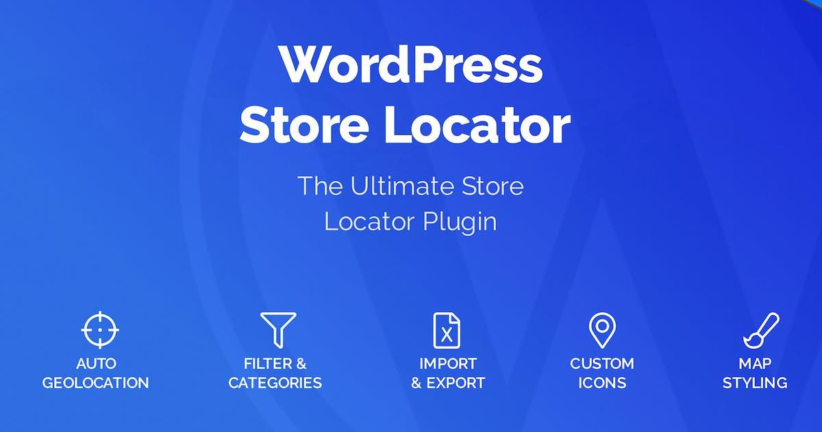Download WordPress Store Locator by welaunch