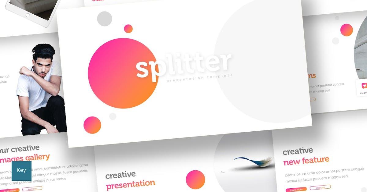 Download Splitter - Keynote Template by inspirasign
