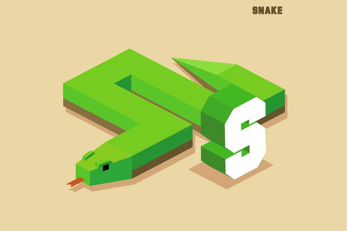 Thumbnail for S for snake, Animal Alphabet