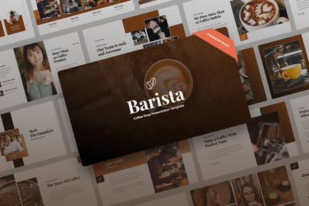 Barista - Кофейня Power Point Презентация