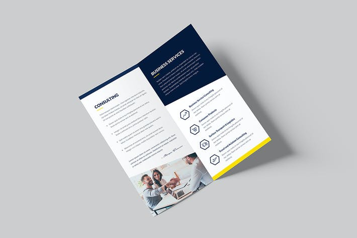 Thumbnail for Brochure – Finance and Business Bi-Fold DL