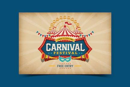 Carnival Festival Background