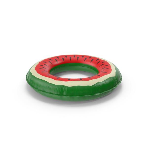 Aufblasbare Poolring Wassermelone