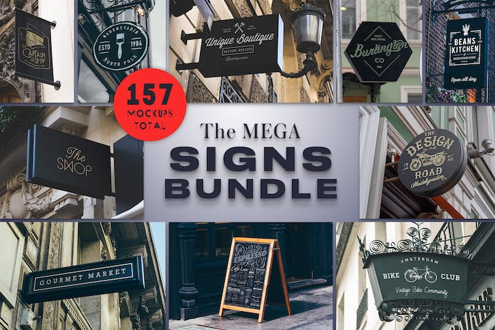 Thumbnail for The Mega Signs Bundle