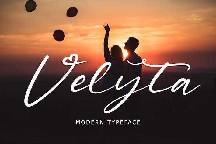 Tipografía Velyta Modern