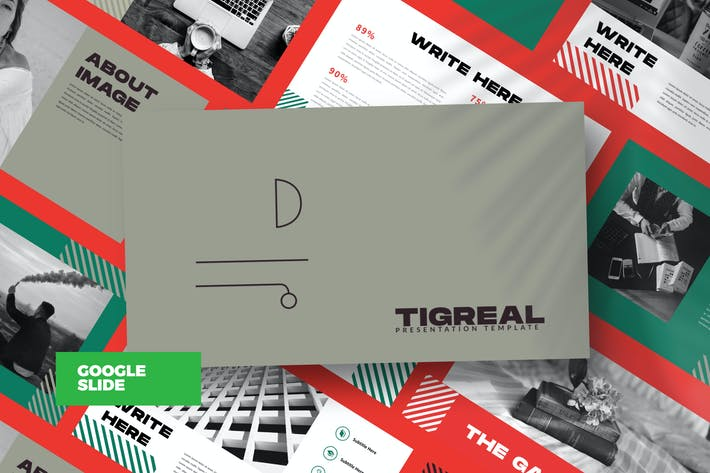Thumbnail for Tigreal - Google Slide Business Corporate