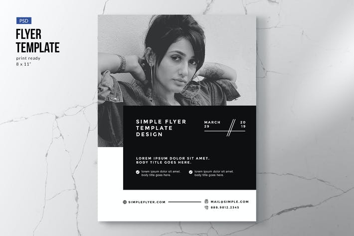 Thumbnail for Minimal Flyer Business Template