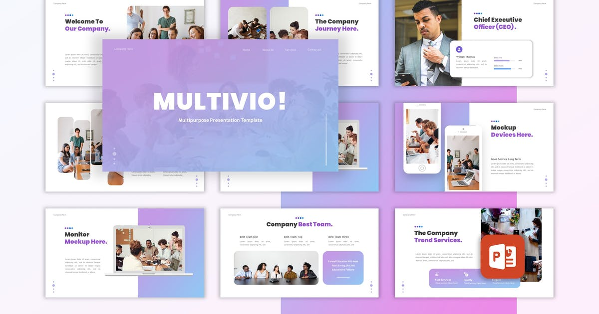 Download Multivio - Business Powerpoint Template by CocoTemplates