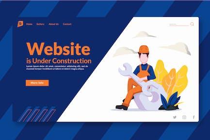 Website is Under Construction - Landing-Page GR