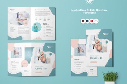 Fight Corona Virus Covid-19 Bi-Fold Brocure