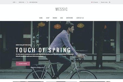 Messic - Moda Magento Tema