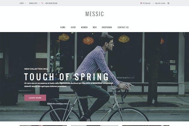 Messic - Fashion Magento Theme