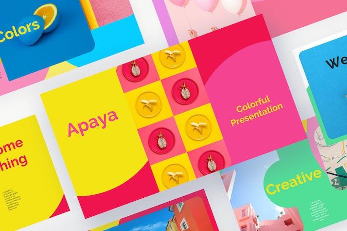 Thumbnail for Apaya - Colorful  PowerPoint Presentation
