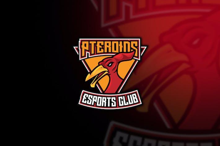 Thumbnail for Pterodactyl Esport Logo Template