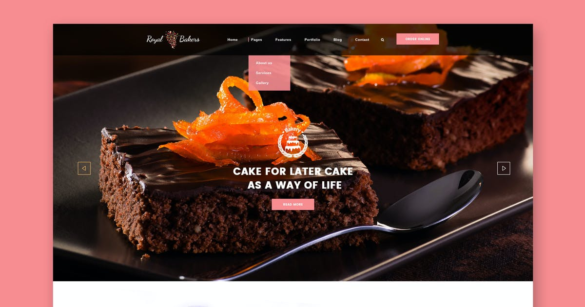 Download Royal Bakery - Cakery & Bakery HTML Template by WPmines
