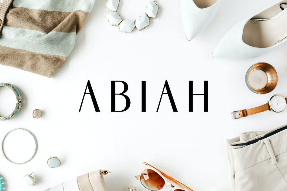 Download Abiah Sans Serif Font Family Pack by creativetacos