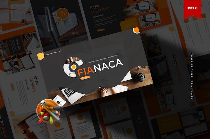 Thumbnail for Fianaca | Powerpoint Template
