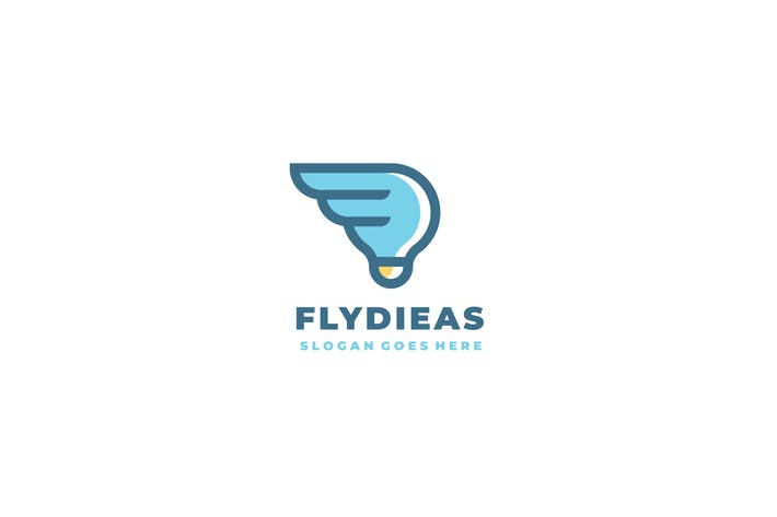 Thumbnail for Fly Idea Logo