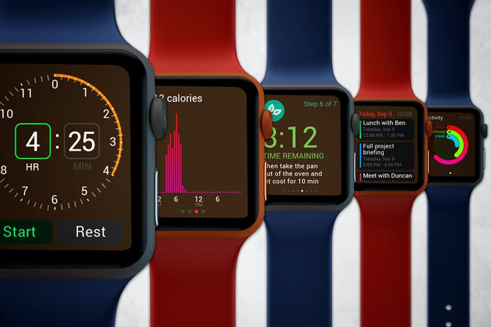 Thumbnail for Apple Watch Mockup V.2
