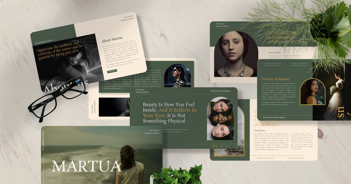 Download Martua - Fashion Powerpoint Template by Yumnacreative