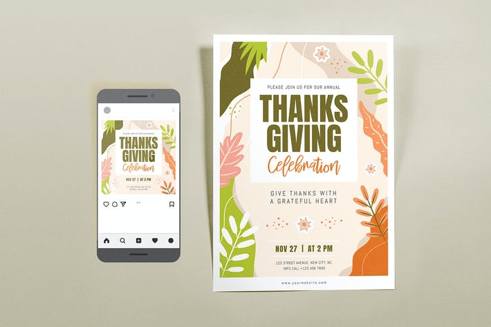 Thanksgiving Celebration Set
