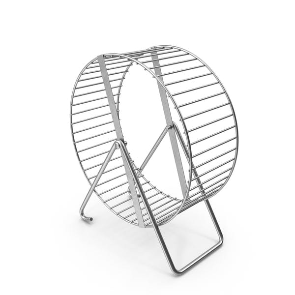 Металлическое колесо хомяка
