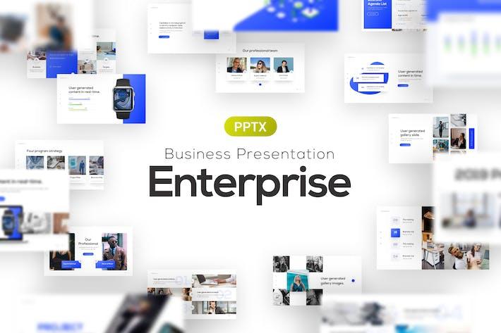 Enterprise Business Corporate PowerPoint Template