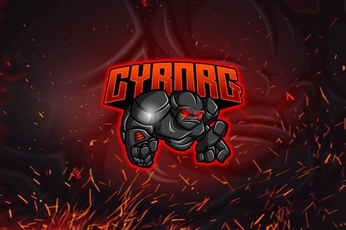 Thumbnail for Cyborg - Esports & Mascot Logo YR