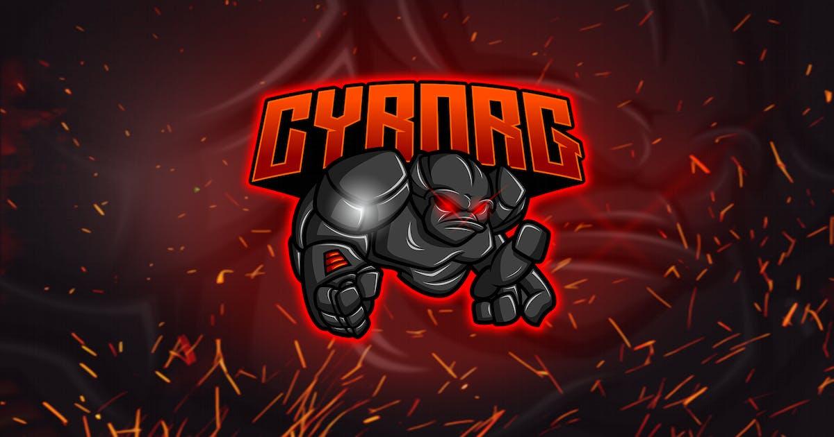 Download Cyborg - Esports & Mascot Logo YR by Rometheme
