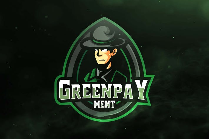Thumbnail for Green Pay Ment Sport and Esports Logos