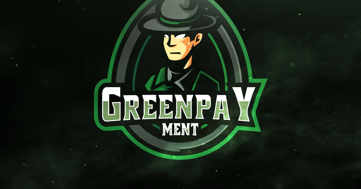 Green Pay Ment Sport and Esports Logos by ovozdigital