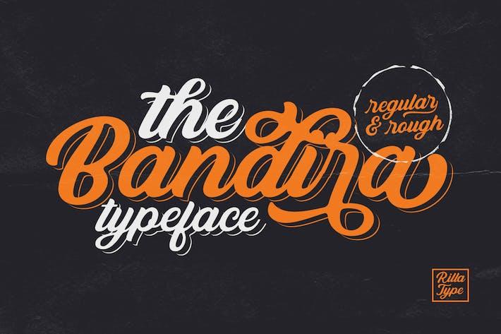 Шрифт «Бандира»