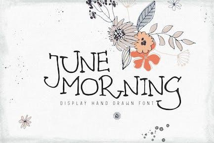 June Morning Font