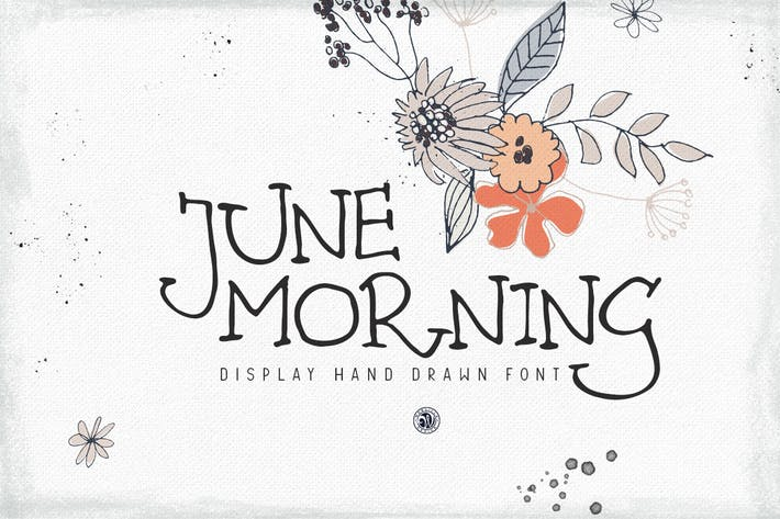 Thumbnail for June Morning Font
