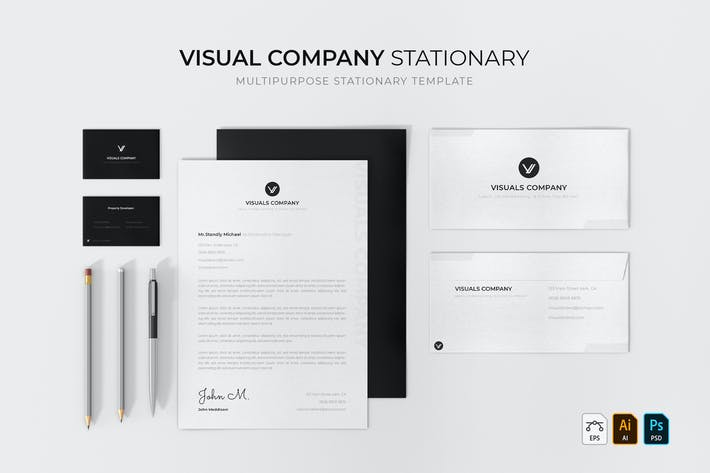 Visual Company | Stationary