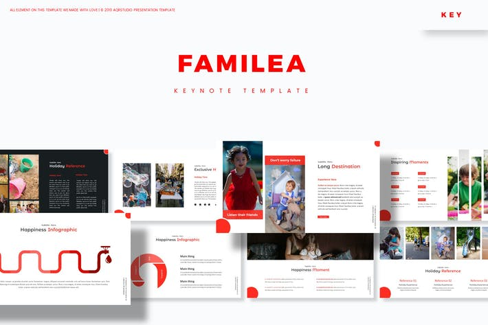 Cover Image For Familea - Keynote Template