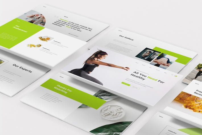 Supplements Keynote Template