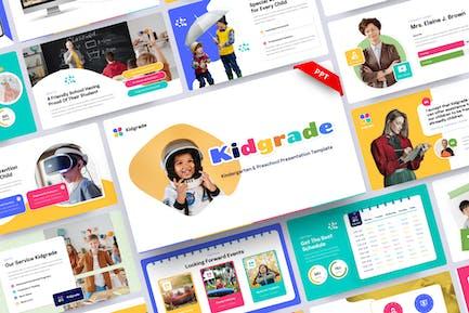 Kidgrade-Kindergarten & Preschool PowerPoint